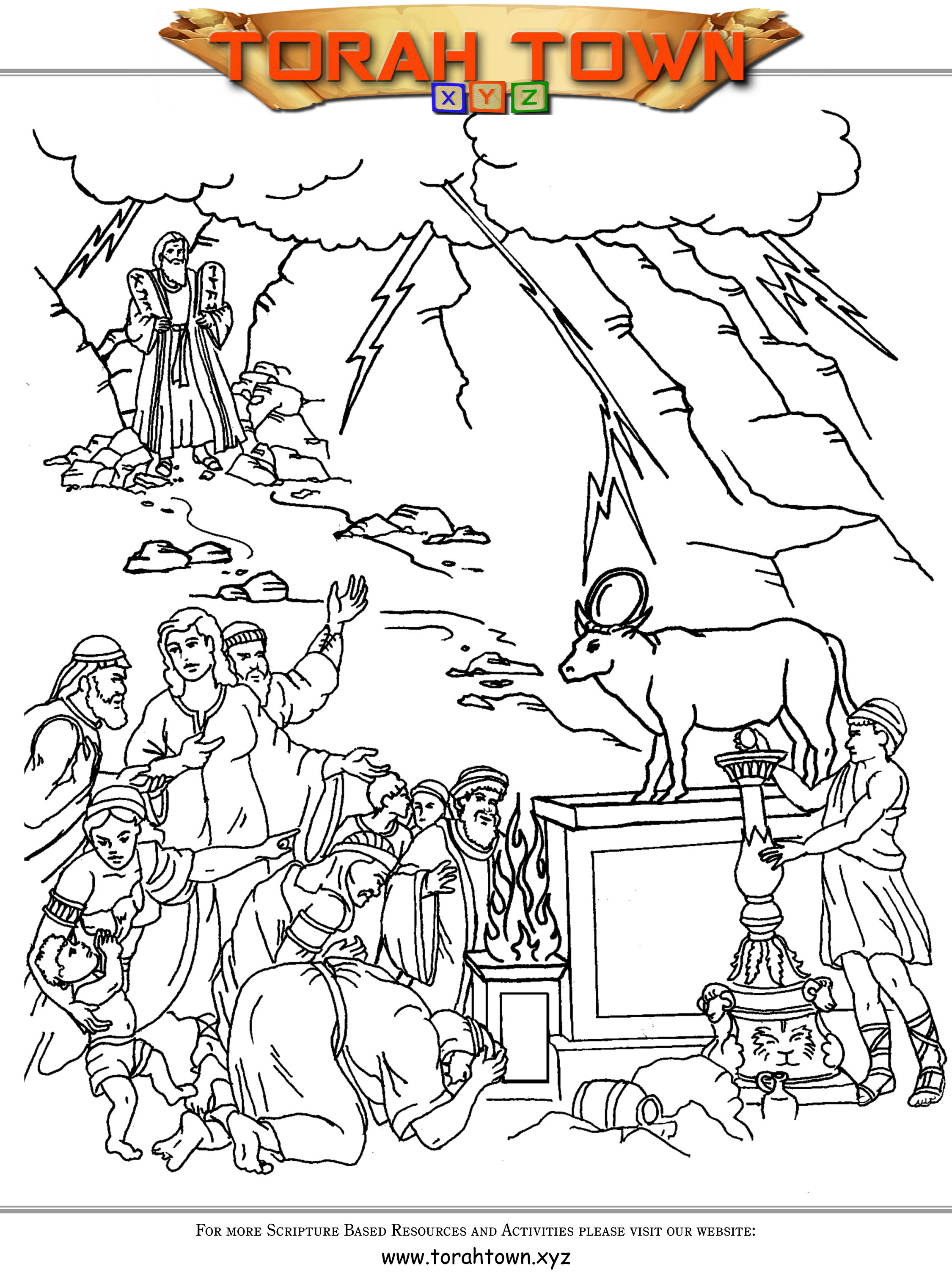 39 The Golden Calf Coloring avatar the last airbenders coloring pages